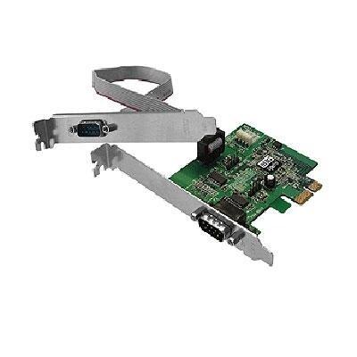Siig Cyberserial Dual Pcie-Dual Bracket - Serial Adapter - 2 Ports