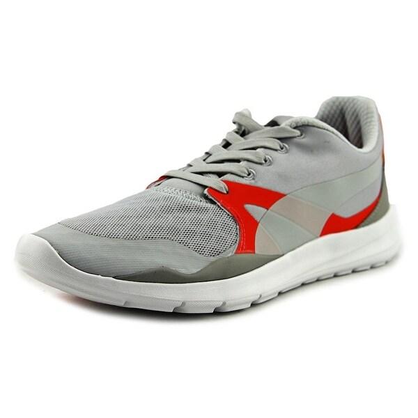 Puma Duplex Evo Men Round Toe Canvas Gray Sneakers