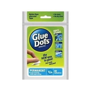 "Glue Dots Permanent 1/2"" Sheet 60pc"
