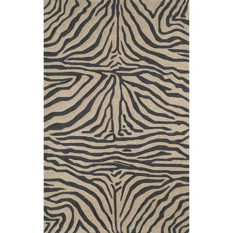 Liora Manne Ravella Zebra Indoor/Outdoor Rug