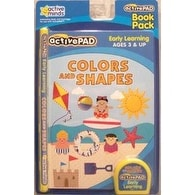 Active Pad Colors and Shapes Interactive Book and Cartridge - Blue