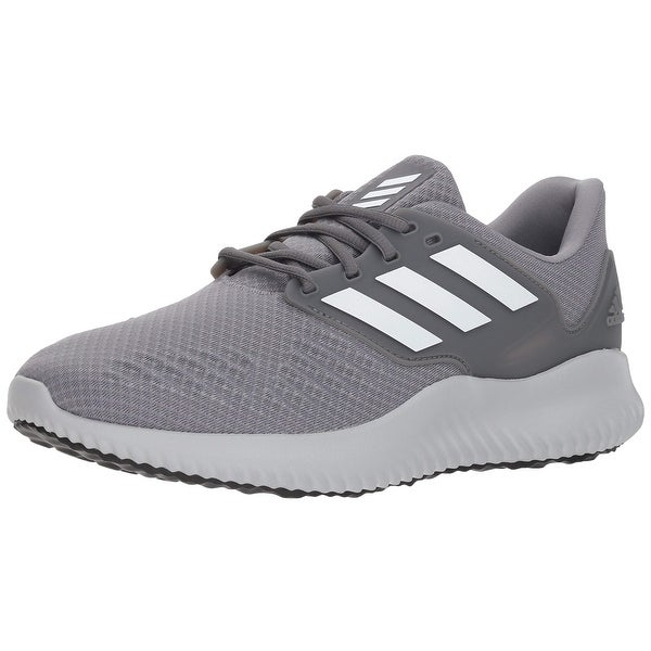 247ec9d6d Shop Adidas Men s Alphabounce Rc.2 Running Shoe White Grey - Free Shipping  Today - Overstock - 27124887