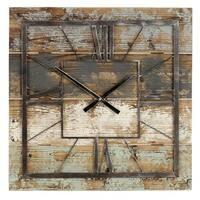 Aspire Home Accents 5087 Weston Square Wall Clock, Multicolor