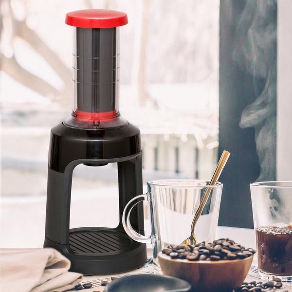 Shop Gymax Portable Manual Coffee Brewer Mini Hand Press Single