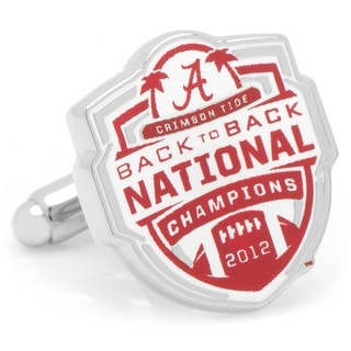 2012 University of Alabama National Champions Cufflinks - Red