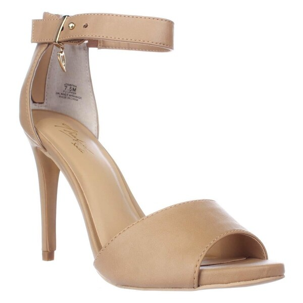TS35 Jose Ankle Strap Sandals, Nude