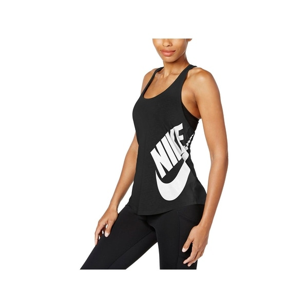 33be4b8a64d59 Shop Nike Womens Tank Top Graphic Racerback - Free Shipping On ...