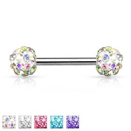 Crystal Paved Ferido Balls 316L Surgical Steel Nipple Bar (Sold Individually)|https://ak1.ostkcdn.com/images/products/is/images/direct/26f15a714396e03d5e38f3a669a150cd4abd122d/Crystal-Paved-Ferido-Balls-316L-Surgical-Steel-Nipple-Bar-%28Sold-Individually%29.jpg?impolicy=medium