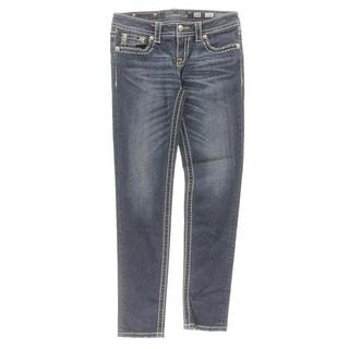 Miss Me Womens Skinny Jeans Embellished Flap Pocket - 28
