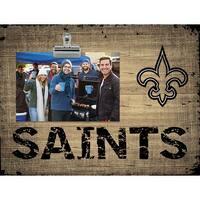 New Orleans Saints Clip Frame