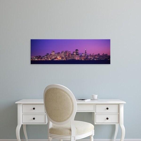 Easy Art Prints Panoramic Images's 'San Francisco, California, USA' Premium Canvas Art