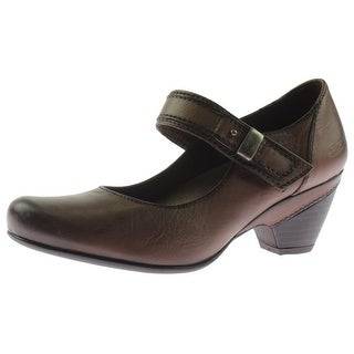 Taos Womens Porto Mary Jane Heels Leather Pumps