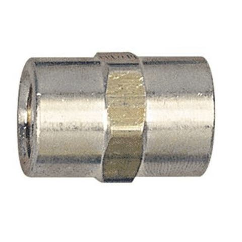 Forney 75532 Brass Hose Coupling, 1/4""