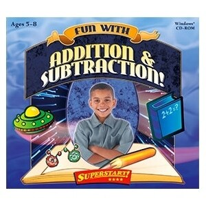 """Selectsoft LPFUNADSUJ Selectsoft Fun with Addition & Subtraction! - Educational Game Jewel Case Retail - PC"""
