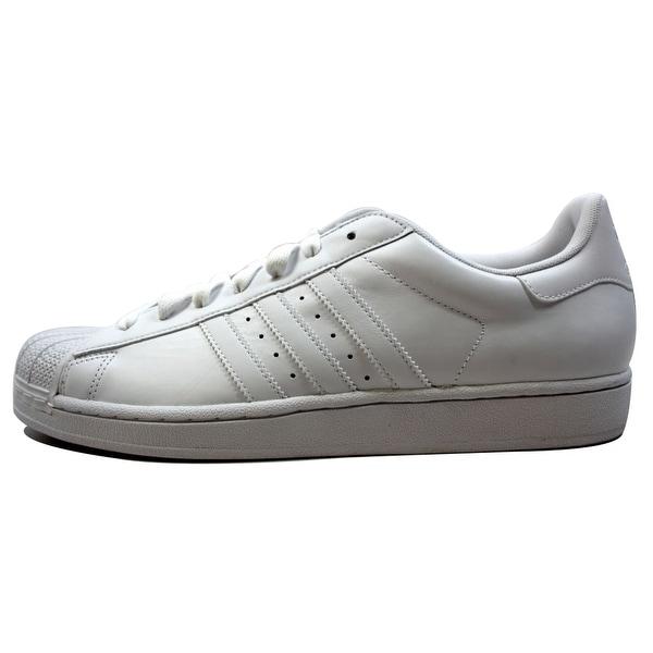 Adidas Men's Superstar II 2 White/White-White G17071 Size 10