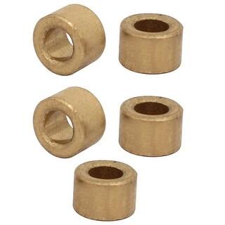 5mm x 9mm x 6mm Self-lubricating Bushing Sleeve Brass Bearings 5PCS