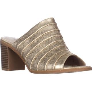 Easy Street Chella Slip-On Comfort Mules, Soft Gold