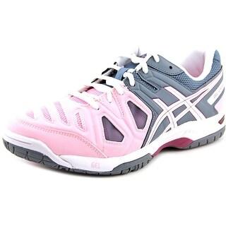 Asics Gel-Game 5 Women Round Toe Synthetic Pink Running Shoe