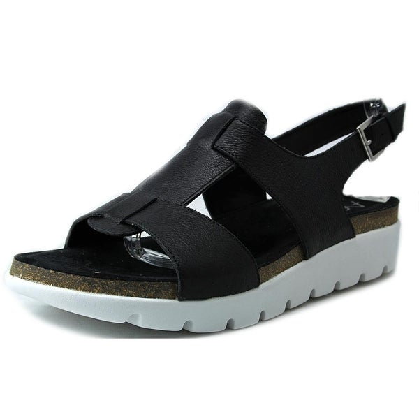 Aerosoles Throw Back Black Sandals