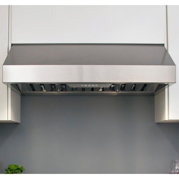 "Miseno MH70130AS 290 - 750 CFM 30"" Stainless Steel Under Cabinet Range with Baffle Filters and Dual Halogen Lighting System"
