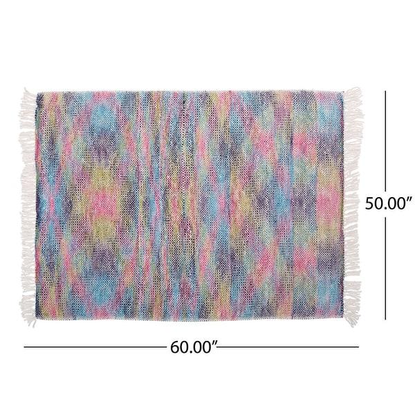 Dymond Boho Fabric Throw Blanket by Christopher Knight Home