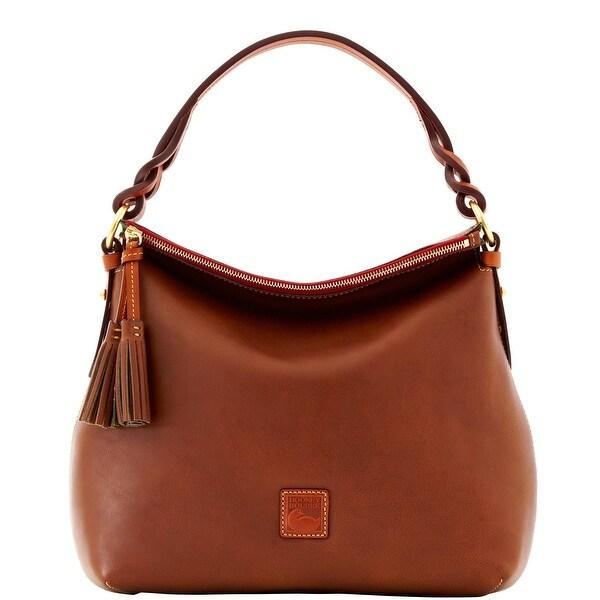 Dooney & Bourke Florentine Twist Strap Hobo (Introduced by Dooney & Bourke at $298 in Nov 2012) - Chestnut