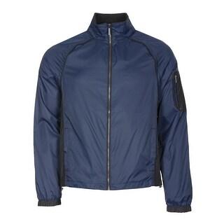 Calvin Klein Lightweight Convertible Windbreaker Jacket / Vest Navy Large L