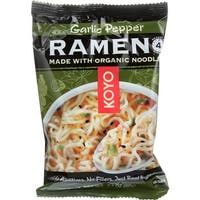Koyo Ramen - Garlic Pepper - Case of 12 - 2.1 oz.