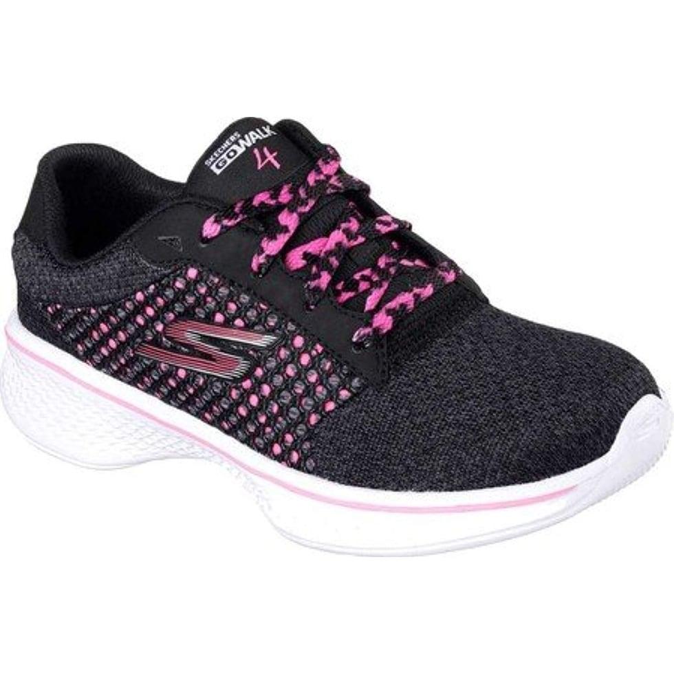 Shop Skechers Kinder Go Walk 4 Exceed Sneakers Kids Trainers Fitness Walking  Goga Max, Shoe Size:Eur 30 - Overstock - 25661161