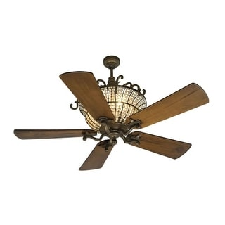 """Craftmade K10660 Cortana 54"""" 5 Blade DC Motor Indoor Ceiling Fan - Blades and Remote Included"""