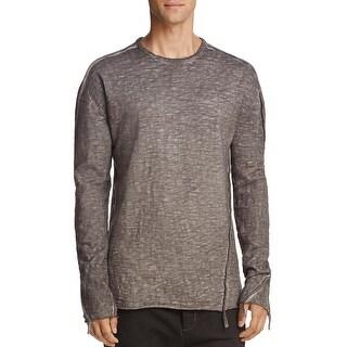 Thom/Krom Thom Krom Men's Long Sleeve Sweatshirt Large L Jumper Gray Oil
