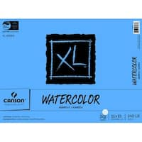 Canson XL Heavy Weight Watercolor Pad, 140 lb, 11 X 15 in, 30 Sheets