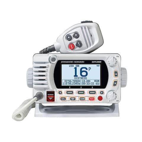 Standard Horizon GX1800G Fixed Mount VHF with GPS - White GX1800GW Fixed Mount VHF