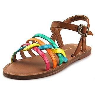 Nina Clari Open Toe Leather Sandals