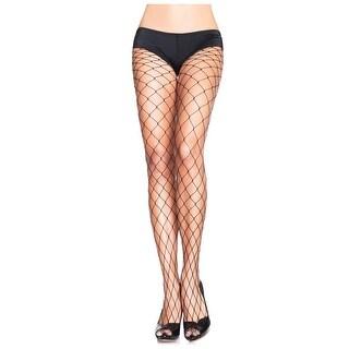 Plus Size Fence Net Pantyhose