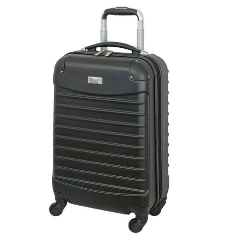 Geoffrey Beene 20 Inch Hardside Spinner Carry-on Upright Luggage - 20 Inch