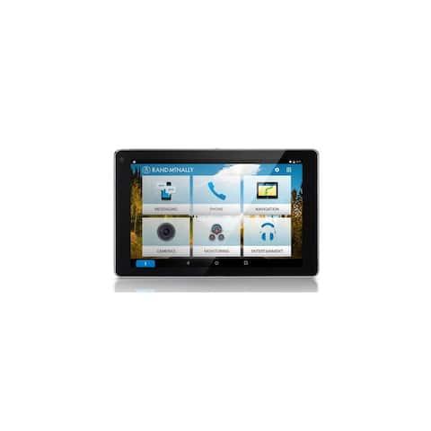 Refurbished Rand McNally OverDryve 7 Pro with Inbuilt Dashcam, Bluetooth & SiriusXM Truck GPS - Black