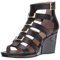 Calvin Klein Womens Brilla Leather Open Toe Formal Strappy Sandals - 8.5
