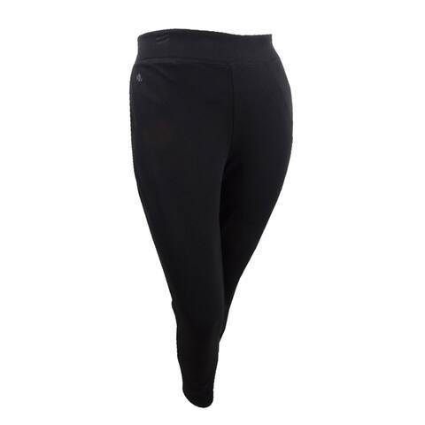 Lauren by Ralph Lauren Women's Shanona Pants (XL, Polo Black) - Polo Black - XL