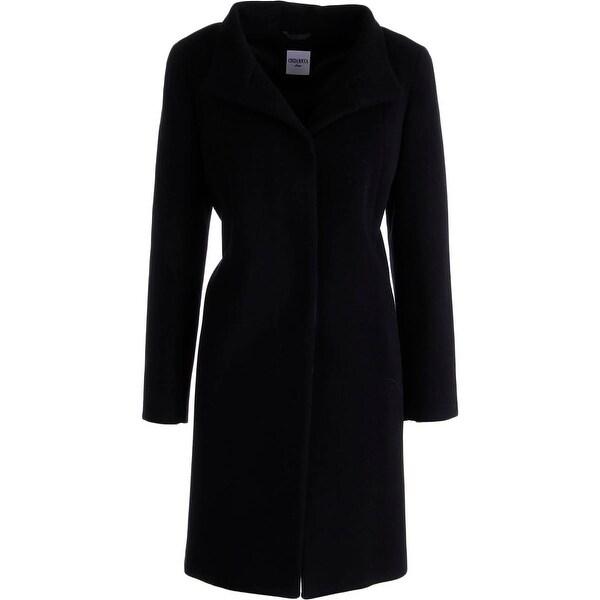 Cinzia Rocca Womens Coat Wool Blend Button Clousre - 8