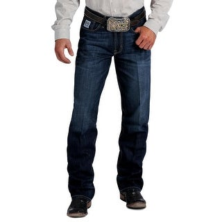 Cinch Western Denim Jeans Mens White Label Straight Dark