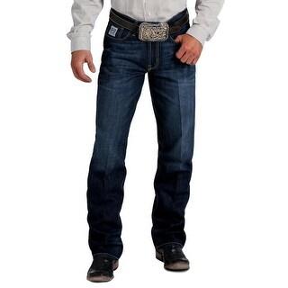 Cinch Western Denim Jeans Mens White Label Straight Dark MB92834027