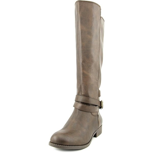 Mia Private  Women  Round Toe Synthetic Brown Knee High Boot