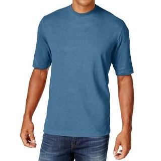 WEATHERPROOF NEW Blue Heather Mens Size 4XLT Big & Tall Crewneck T-Shirt