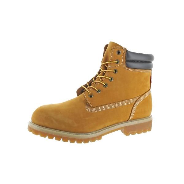 Levi's Mens Harrison R Work Boots Nubuck Water Resistant