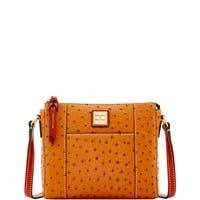 Dooney & Bourke Ostrich Embossed Leather Lexington Crossbody (Introduced by Dooney & Bourke at $168 in Jan 2018)