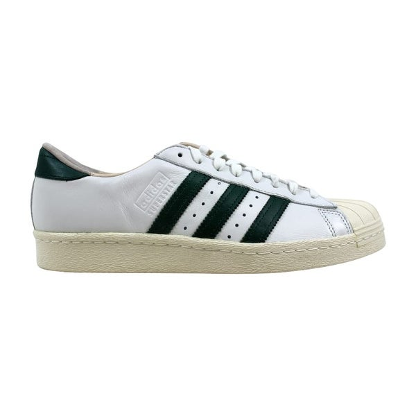 huge selection of a928f 66828 Adidas Superstar 80s Recon Crystal White Green-Off White B41719 ...