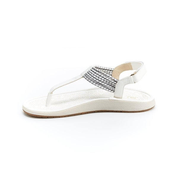 JBU Womens Yasmin Open Toe Casual Slingback Sandals