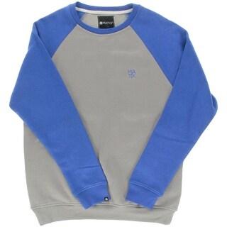 Matix Mens Fleece Colorblock Crew Sweatshirt