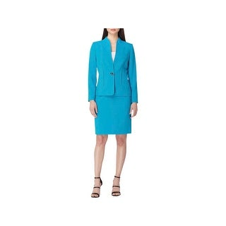 Tahari ASL Womens Petites Skirt Suit Office Wear 2 PC